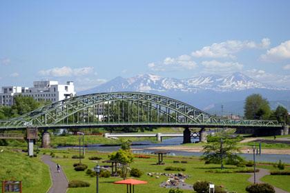 北海道遺産 「旭橋」(旭川市)